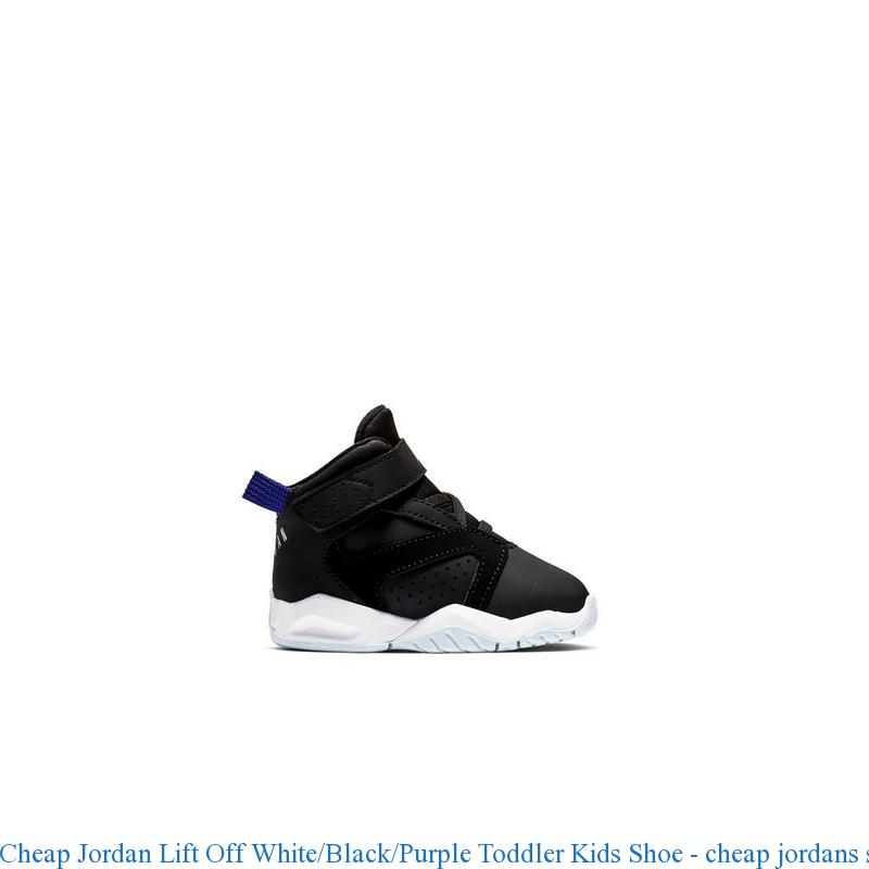 reputable site dcd6b 0c053 Cheap Jordan Lift Off White Black Purple Toddler Kids Shoe – cheap jordans  ...