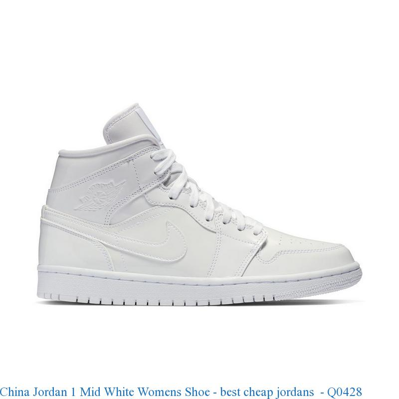 c5edb9e5 China Jordan 1 Mid White Womens Shoe – best cheap jordans – Q0428 – cheap  jordan shoes, wholesale nike jordan shoes, cheap jordans sale china